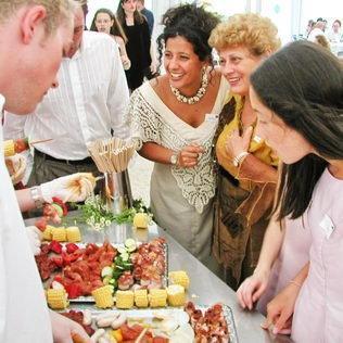 Grillbuffet für Hochzeit
