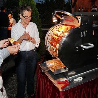 Selber grillieren an Geburtstagsfest