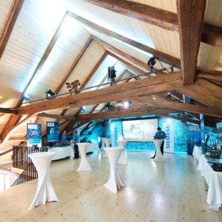Kundenempfang in der Roten Trotte Winterthur
