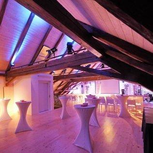 Rote Trotte Dachgeschoss