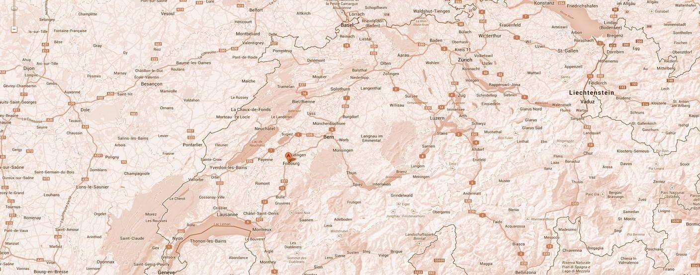 Unsere Standorte Schweizweit